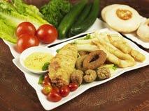 Arabic cuisine Stock Images