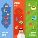 Arabic Culture Banner Royalty Free Stock Image