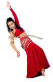 Arabic dancer with a sword Stock Image
