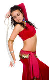 Arabic dancer with a sword Stock Photography