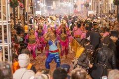 Arabic dancing Stock Image
