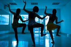 Arabic dancing Royalty Free Stock Image