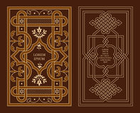 Arabic decoration. On book covers. Vector illustration Stock Images