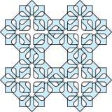 Arabic decorative pattern. Vector EPS10 Stock Image