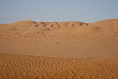The Arabic Desert Stock Image