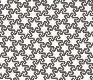 Arabic design with hexagonal star, islamic seamless vector patte. Rn Stock Image