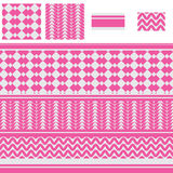 Arabic diamond pink seamless pattern. This illustration is design and drawing Arabic scarf Keffiyeh with pink color in seamless pattern and adjustment display Royalty Free Stock Photography