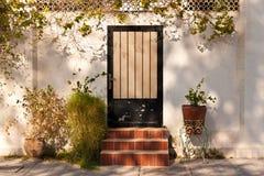 Arabic door entance. Royalty Free Stock Image