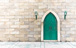 Arabic door Royalty Free Stock Photography