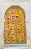 The arabic door Royalty Free Stock Photo