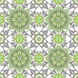Arabic Embossed vintage classic seamless geometric pattern Stock Photos