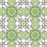 Arabic Embossed vintage classic seamless geometric pattern Royalty Free Stock Photography