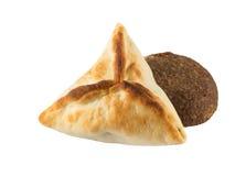 Arabic esfiha and kibbeh. Manakish Royalty Free Stock Image