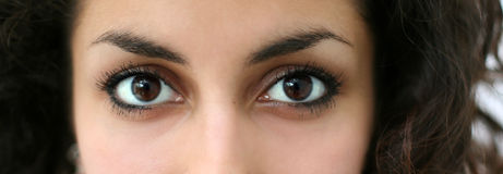Arabic eyes Stock Photos