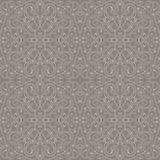 Arabic floral brown pattern Royalty Free Stock Photos