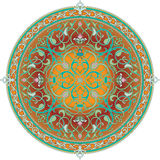 Arabic floral pattern motif royalty free illustration