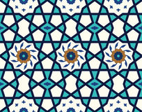 Arabic Floral Seamless Pattern. Traditional Arabic Islamic Background. Royalty Free Stock Images
