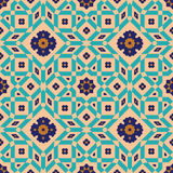 Arabic Floral Seamless Pattern. Traditional Arabic Islamic Background. Stock Images