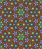 Arabic Floral Seamless Pattern. Traditional Arabic Islamic Background. Stock Image