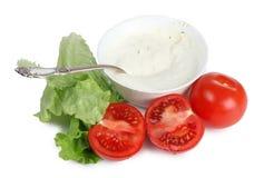 Arabic food and tomatos Royalty Free Stock Photos
