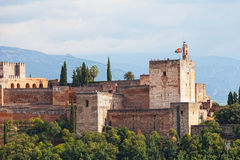 Arabic fortress of Alhambra Stock Photo