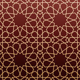 Arabic geometric art, seamless pattern Royalty Free Stock Images