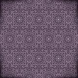 Arabic geometric background Stock Images