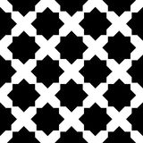 Arabic geometric tile black and white hipster fashion pillow pattern. Abstract arabic geometric tile black and white hipster fashion pillow pattern Royalty Free Stock Photos