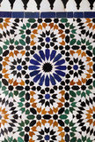 Arabic glazed tiles Stock Photos