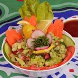 Arabic green mixed slad Stock Photo