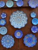 Arabic handicraft market. Royalty Free Stock Photo
