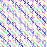Arabic happy holiday multicolor seamless pattern royalty free stock photography