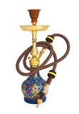 Arabic hookah isolated on a white background Stock Photos