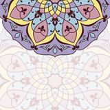 Arabic invitation card Royalty Free Stock Image