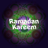 Arabic Islamic calligraphy of text Ramadan Kareem on abstract background Royalty Free Stock Photography