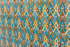 Arabic Islamic mosaic wall with muslim ornaments Stock Images