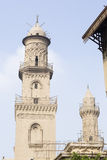 Arabic Islamic mosque in Cairo egypt Stock Photography