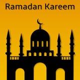 Arabic islamic mosque vector design Royalty Free Stock Image