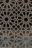 Arabic Islamic Pattern Background window of mosque Royalty Free Stock Photo