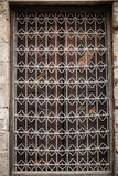 Arabic Islamic Pattern Background window of mosque in egypt. Historic Egyptian Mosque window handmade Royalty Free Stock Photos