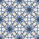 Arabic Islamic seamless pattern Ramadan Kareem on background for Muslim Community festival celebration. Vector Stock Photos