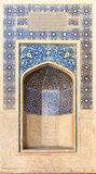 Arabic and islamic style mosque mosaic and pattern geometric Stock Images