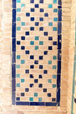 Arabic and islamic style mosque mosaic and pattern geometric Royalty Free Stock Photos