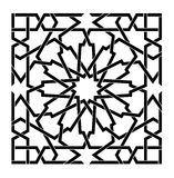 Arabic islamic vector pattern Stock Image