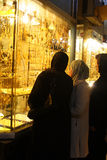Arabic Jevelry Store Royalty Free Stock Photography