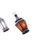 Arabic lamp isolated Royalty Free Stock Photography