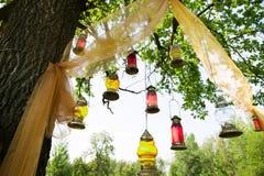 Arabic lamps Stock Photo