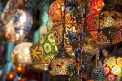 Arabic lamps Royalty Free Stock Photography