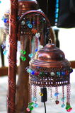 Arabic lamps. Egyptian arabic lamp in Dahab Royalty Free Stock Image