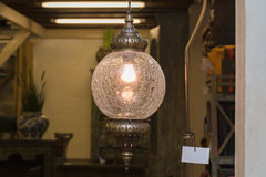 Arabic lamps, oriental traditional souvenirs Royalty Free Stock Photo
